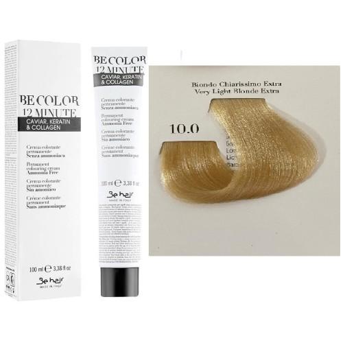 Vopsea De Par Blond Foarte Deschis Extra Be Hair-Be Color 12 min, fara amoniac, 10.0, 100ml