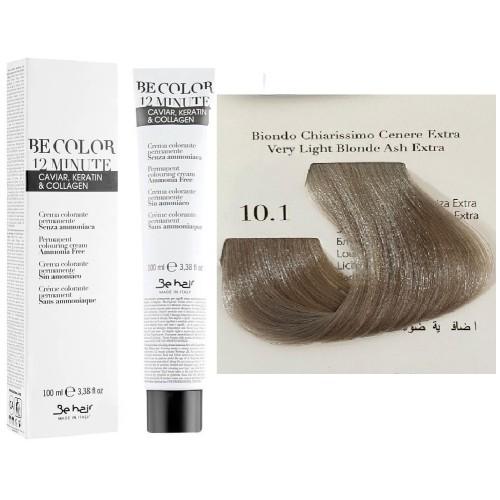 Vopsea De Par Blond Cenusiu Foarte Deschis Extra  Be Hair-Be Color 12 min, fara amoniac, 10.1, 100ml