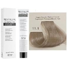Vopsea De Par Super Blond Platinat Cenusiu Be Hair-Be Color 12 min, fara amoniac, 11.1, 100ml