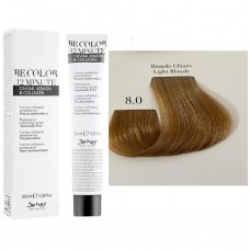 Vopsea De Par Blond Deschis Be Hair-Be Color 12 min, fara amoniac, 8.0, 100ml