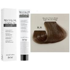 Vopsea De Par Castaniu Bej Deschis Be Hair-Be Color 12 min, fara amoniac, 8.8, 100ml