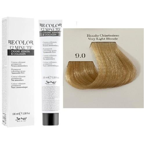 Vopsea De Par Blond Foarte Deschis Be Hair-Be Color 12 min, fara amoniac, 9.0, 100ml