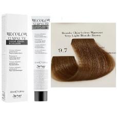 Vopsea De Par Blond Maroniu Foarte Deschis Be Hair-Be Color 12 min, fara amoniac, 9.7, 100ml
