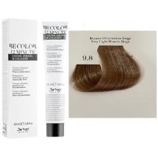 Vopsea De Par Castaniu Bej Foarte Deschis Be Hair-Be Color 12 min, fara amoniac, 9.8, 100ml