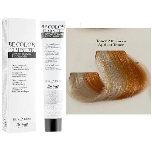 Vopsea De Par Toner Apricot Be Hair-Be Color 12 min, fara amoniac, 100ml