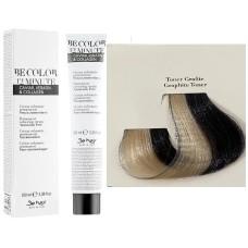 Vopsea De Par Toner  Graphite  Be Hair-Be Color 12 min, fara amoniac, 100ml