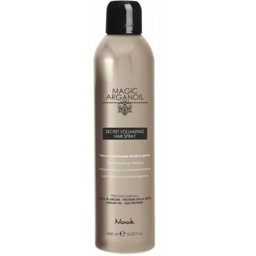 Nook - Fixativ pentru volum Magic Argan Oil Secret Volumizing Hair Spray 400ml