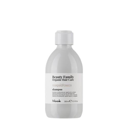 Nook Beauty Family-Sampon cu extracte organice de maqui si cocos, Maqui & Cocco Shampoo, 300ml