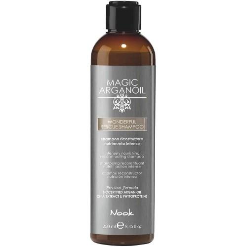 Sampon de reconstructie/recuperare  intensa- Nook Wonderful Rescue shampoo- 250 ml
