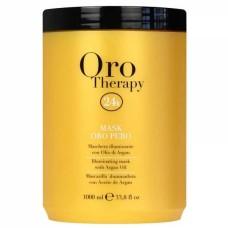 Masca pentru stralucire cu ulei de argan Oro Therapy, 1000 ml