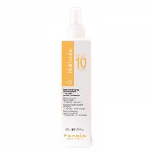 Masca Spray fara clatire cu 10 beneficii Fanola Nutri Care  200ml
