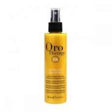 Spray in doua faze cu keratina lichida si ulei de argan, Fanola Oro Therapy, 200 ml