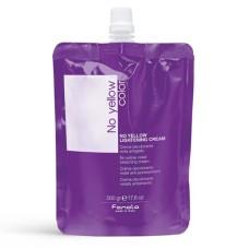 NO YELLOW LIGHTENING CREAM Crema decoloranta violet cu efect anti-galben , 500gr