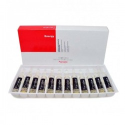 Lotiune anticadere a parului, fiole Fanola Energy 12x10 ml