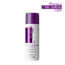 "FANOLA NO YELLOW Crema Termo-protectiva "" 100% VEGAN , 150 ml"