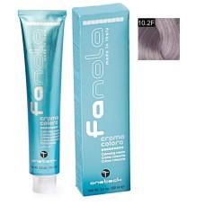 Vopsea De Par Blond Violet Platinat Fantasy, Fanola, 10.2F, Uz Profesional, 100 ml