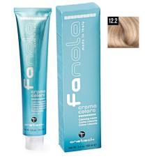 Vopsea De Par Super Blond Platinat Perlat Extra 12.2, Fanola, Uz Profesional,100 ml
