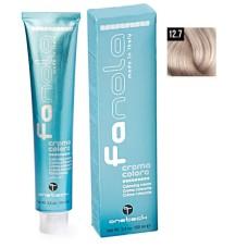 Vopsea De Par Super Blond Super Platinat Iris Extra 12.7, Fanola, Uz Profesional,100 ml