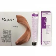 Vopsea de par profesionala Toner T.Rose Gold No Yellow 100 ml